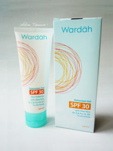 Beauty on a Budget: Wardah Sunscreen Gel SPF 30