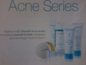 Halal Cosmetic and Womans Stuffs for Your Beauty: Wardah Acne Series