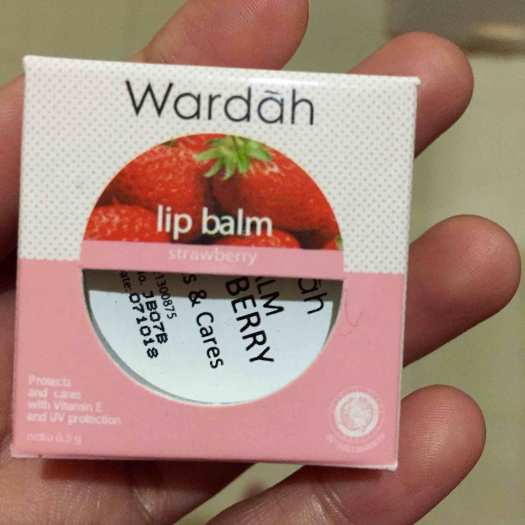 Wardah Lip Balm Strawberry Online Terlengkap