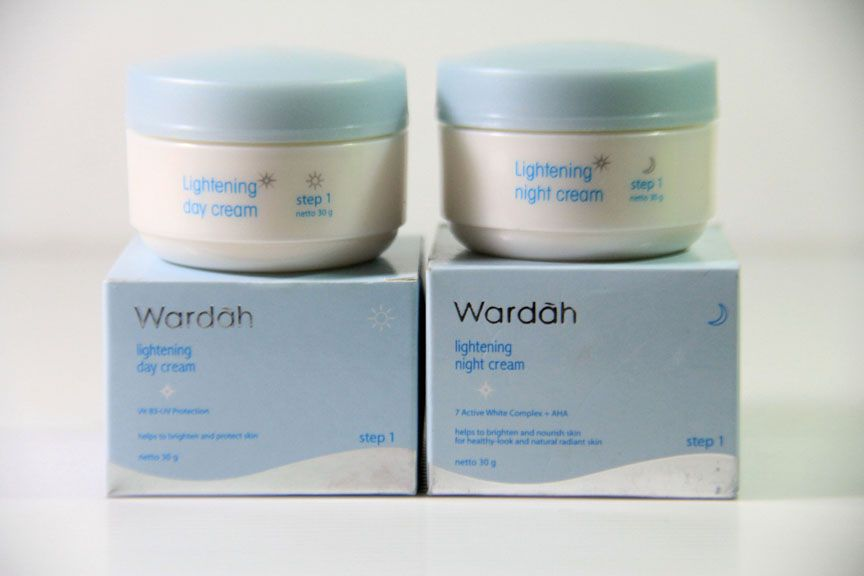 Wardah lightening cream step 2