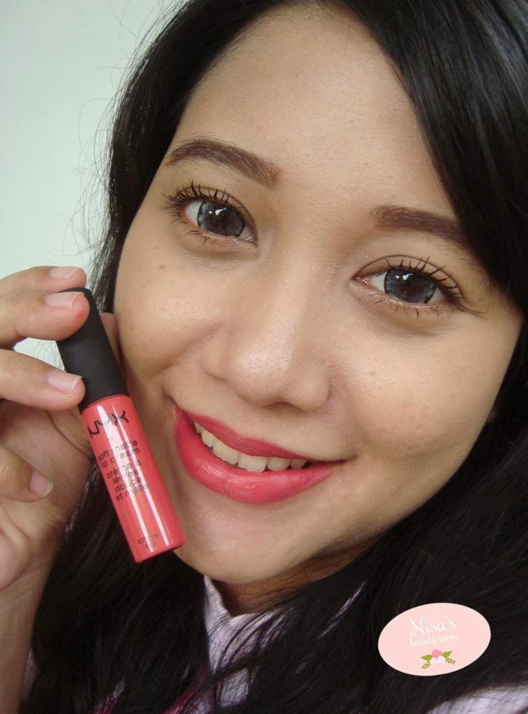 review NYX SoftMatte LipCream