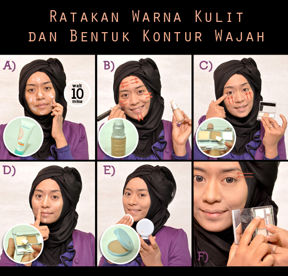 Tutorial Make Up Wardah untuk Kulit Sawo Matang
