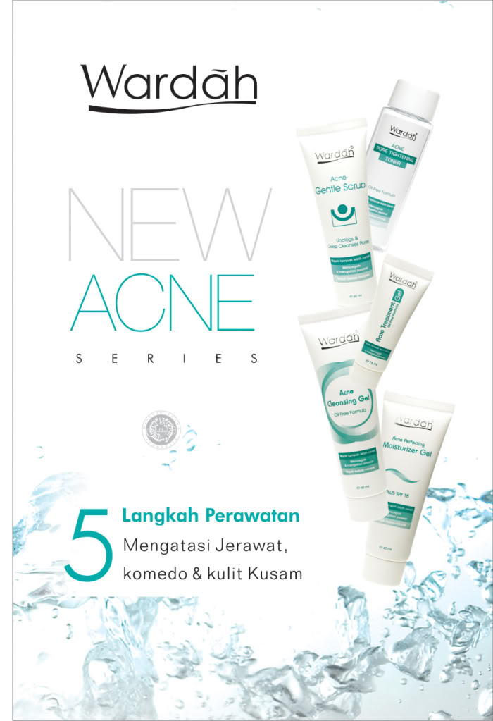 Wardah Acne Series Poster photo poster wardah produk